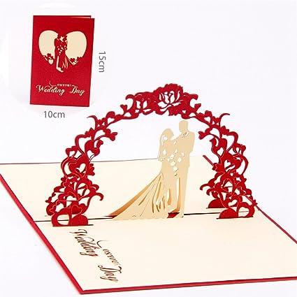 3D Tarjeta de Felicitación Amor Paper Spiritz Tarjetas Pop up Amor ...