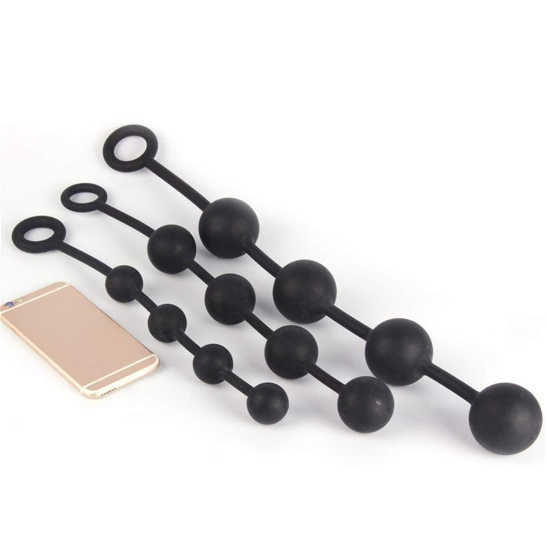 Dilatador anal y vaginal de silicona, con 4 bolas anales ...