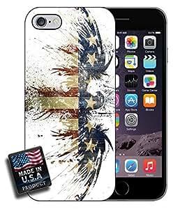 American Flag USA Eagle Splatter iPhone 6 Hard Case