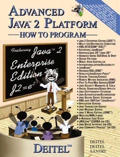 Advanced Java: How to Program by Deitel, Harvey M., Deitel, Paul J., Santry, Sean E. (2001) Paperback