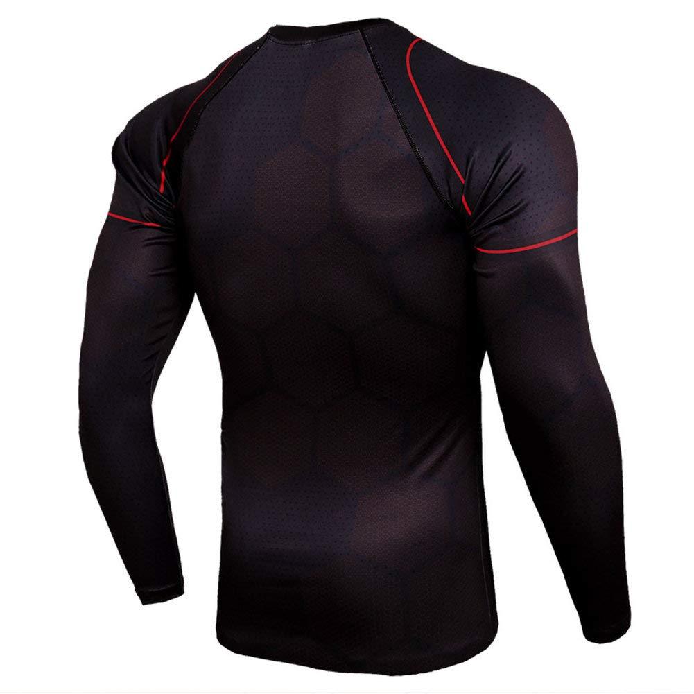 Cool Iron Man Long Sleeve Running Shirt