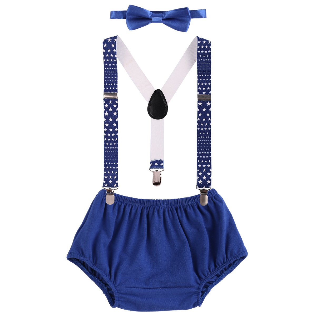 Unisex Suspenders and Bow Tie Set Adjustable Braces Elastic Y-back Baby Kids Hot