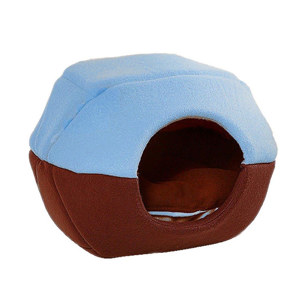 GCHOME Letto per cani Sacco a pelo della cuccia della peluche del letto dell'animale domestico Morbido e comodo respirabile antisdrucciolevole durevole multicolore facoltativo