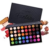 39 Colors Eyeshadow Palette Fantasy Matte Shimmer Makeup Pigmented Eye Shadow Natural Smooth Long Lasting Waterproof…