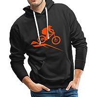 Spreadshirt Mountainbike MTB Downhill Fahrrad Männer Hoodie