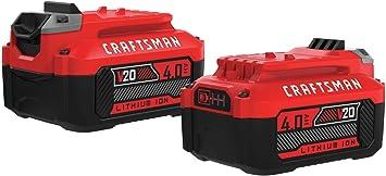 MADE IN USA 4 Pack Craftsman v20 Battery Mount // Cover 20V High Quality  -