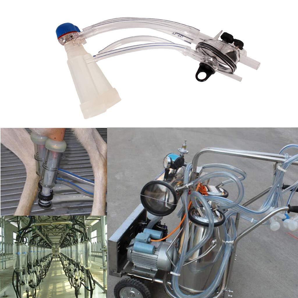 2 Homyl M/áquina Pl/ástica Orde/ñadora de Ovejas Apicultura Suministros de Laboratoria Negocio Cient/ífico