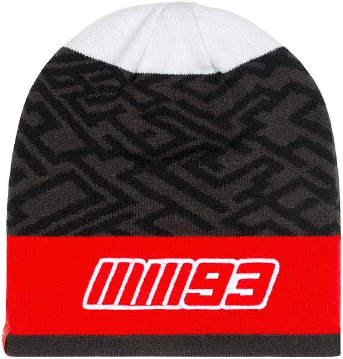 Marc Marquez 2019 93 MotoGP Bonnet chaud dhiver tricot/é pour adulte Taille unique