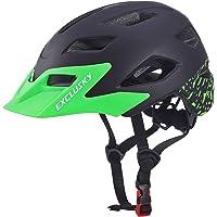 Exclusky Kids Bike Helmets Lightweight Adjustable Child Helmet for Boys Girls 50-57cm(Ages 5-13)