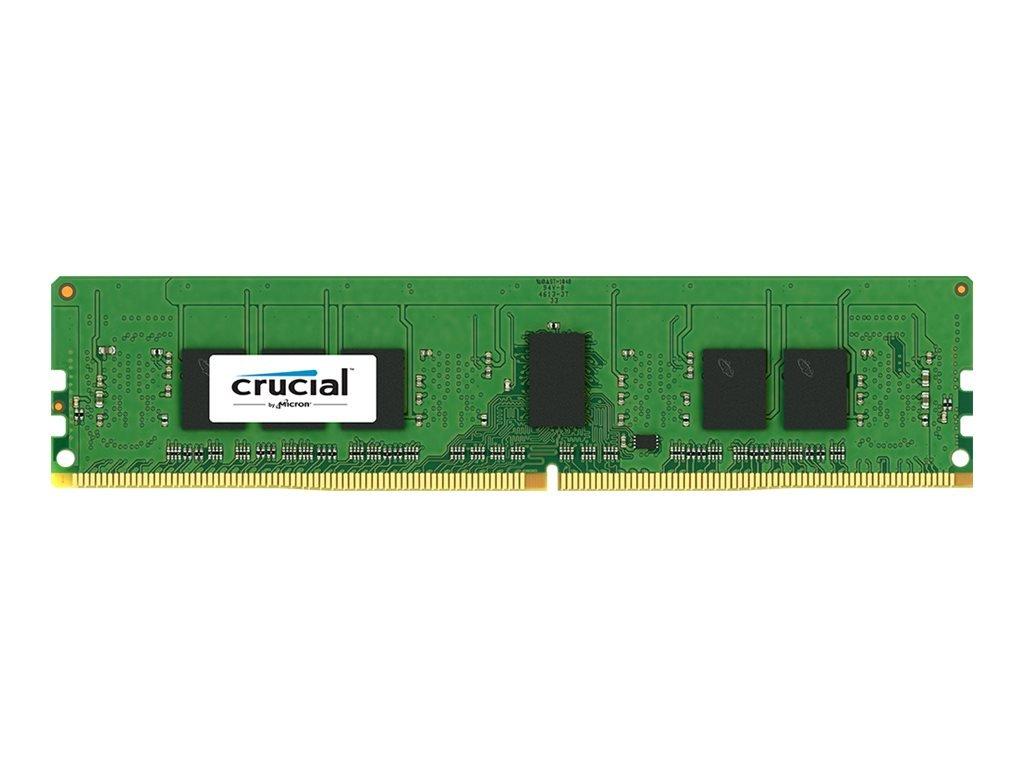 Crucial 4GB Single DDR4 2133 MT/s (PC4-2133) CL15 SR x8 ECC Registered DIMM 288-Pin Server Memory CT4G4RFS8213