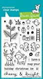"""Lawn Fawn """"Cheery Christmas"""" Clear Stamp - LF1216"""