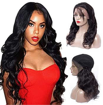 Lace Frontal Wigs For Black Women Human Hair Wigs Brazilian Pre Plucked  Lace Wigs Human Hair 4ef8e1393a