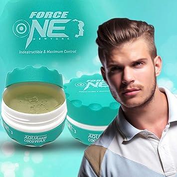 Amazon Force One Aqua Hair Gel Wax Coco 150ml 5 Fl Oz