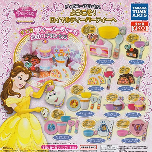 Takara Tomy Arts (TAKARATOMY A.R.T.S) Disney Princess Welcome! All 10 species set Get a Royal Tea Party by Takara Tomy Arts (TAKARATOMY A.R.T.S)