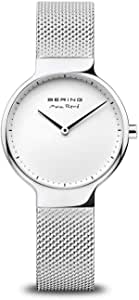 BERING Reloj Analógico Max René Collection para Mujer de Cuarzo con Correa en Acero Inoxidable y Cristal de Zafiro 15531-004