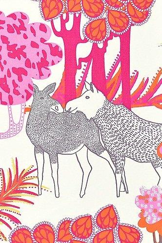 Stoffe Ikea Meterware ikea meterware stoff dekor älgört elch rosa länge 1 00 m x breite 1