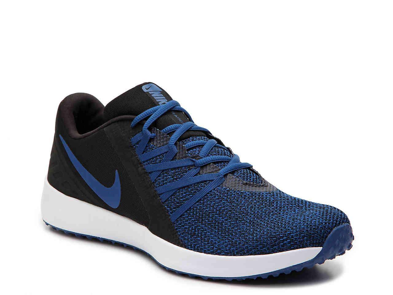 Nike Men's Varsity Compete Trainer (Black/Gym Blue, Size 10 M US)
