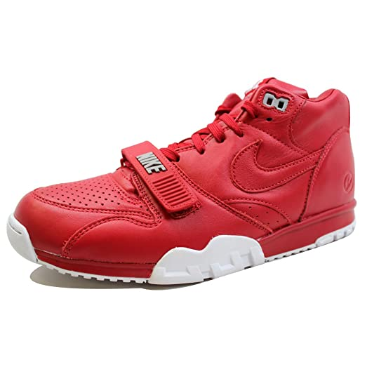 Nike Men's Air Trainer I 1 Mid SP Fragment Gym Red/Gym Red-White