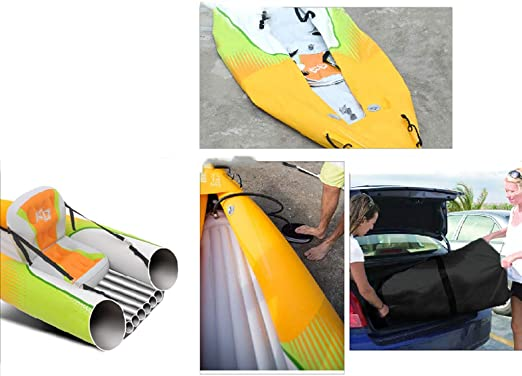 Amazon.com: AA-PHUJ DMUC Kayak - Kit de aventura hinchable ...