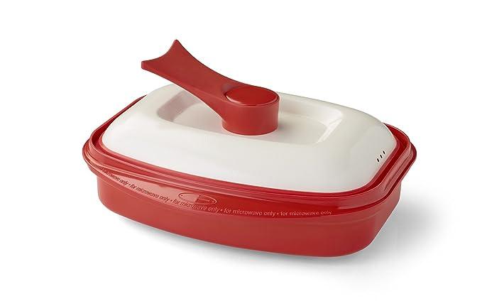 Range Mate Pro Antiadherente utensilios de cocina para ollas y sartenes para microondas largos como los
