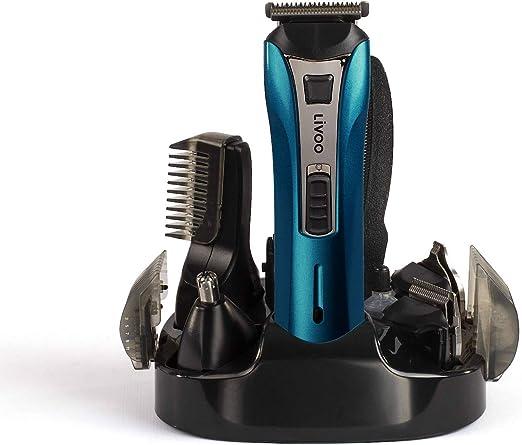 Maquinilla de afeitar eléctrica para hombre, con batería ...