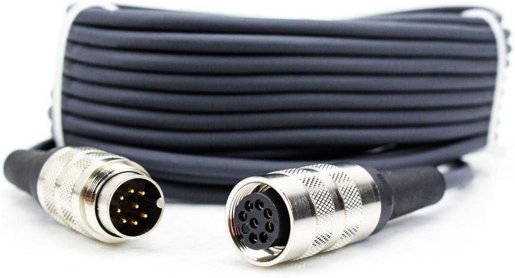 Tuchelstecker female 8pol Neumann Kabel KT8,M147,M149,M150,vergoldete Kontakte,