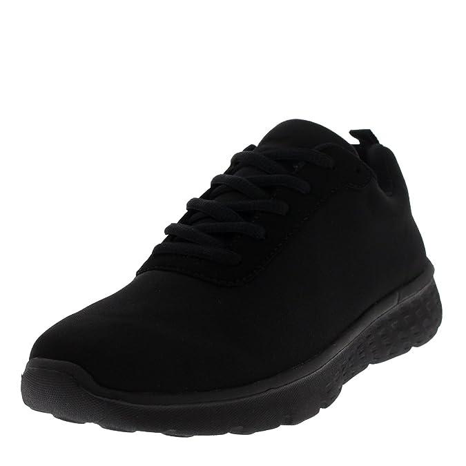 Mujer Get Fit Mesh Go Funcionamiento Atlético Caminar Zapatos Ejecutar - Negro/Blanco - 39 UT2iEkX0H