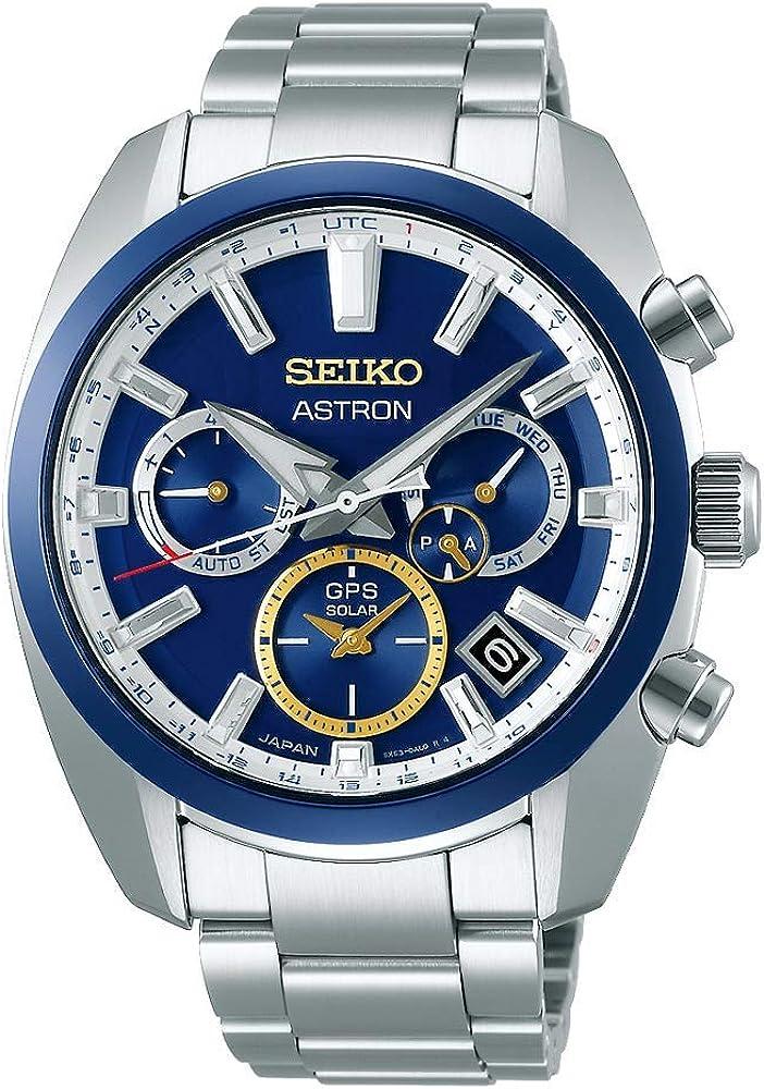 Amazon Com Seiko Astron Novak Djokovic Ssh045j1 Limited Edition Watch Watches
