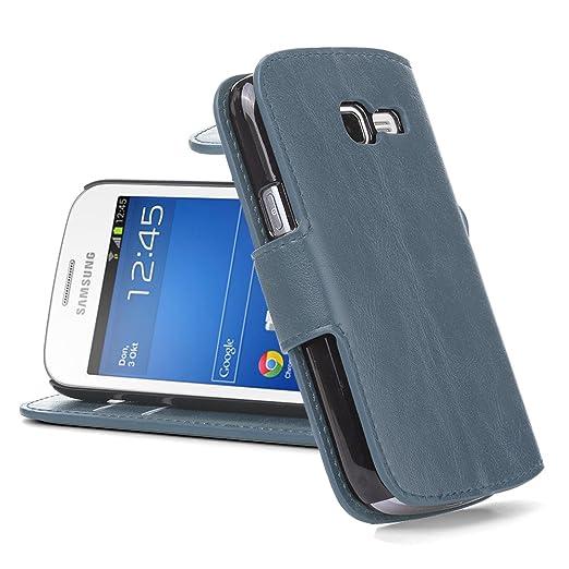 207 opinioni per Cover Galaxy Trend Lite Cover Galaxy Fresh, JAMMYLIZARD [Retro Wallet] Custodia