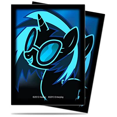 My Little Pony CCG DJ Pon 65ct Sleeves by Ultra Pro: Toys & Games