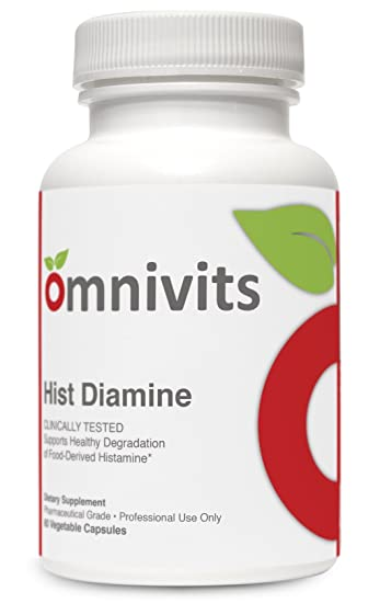 Hist Diamine - 60 vcaps · Histamin Blocker with 20,000 HDU of Diamine Oxidase & Vitamin