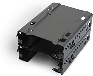 "Phanteks - Stackable 3.5"" HDD Bracket Duo Pack Cases PH-HDDKT_03,Black"