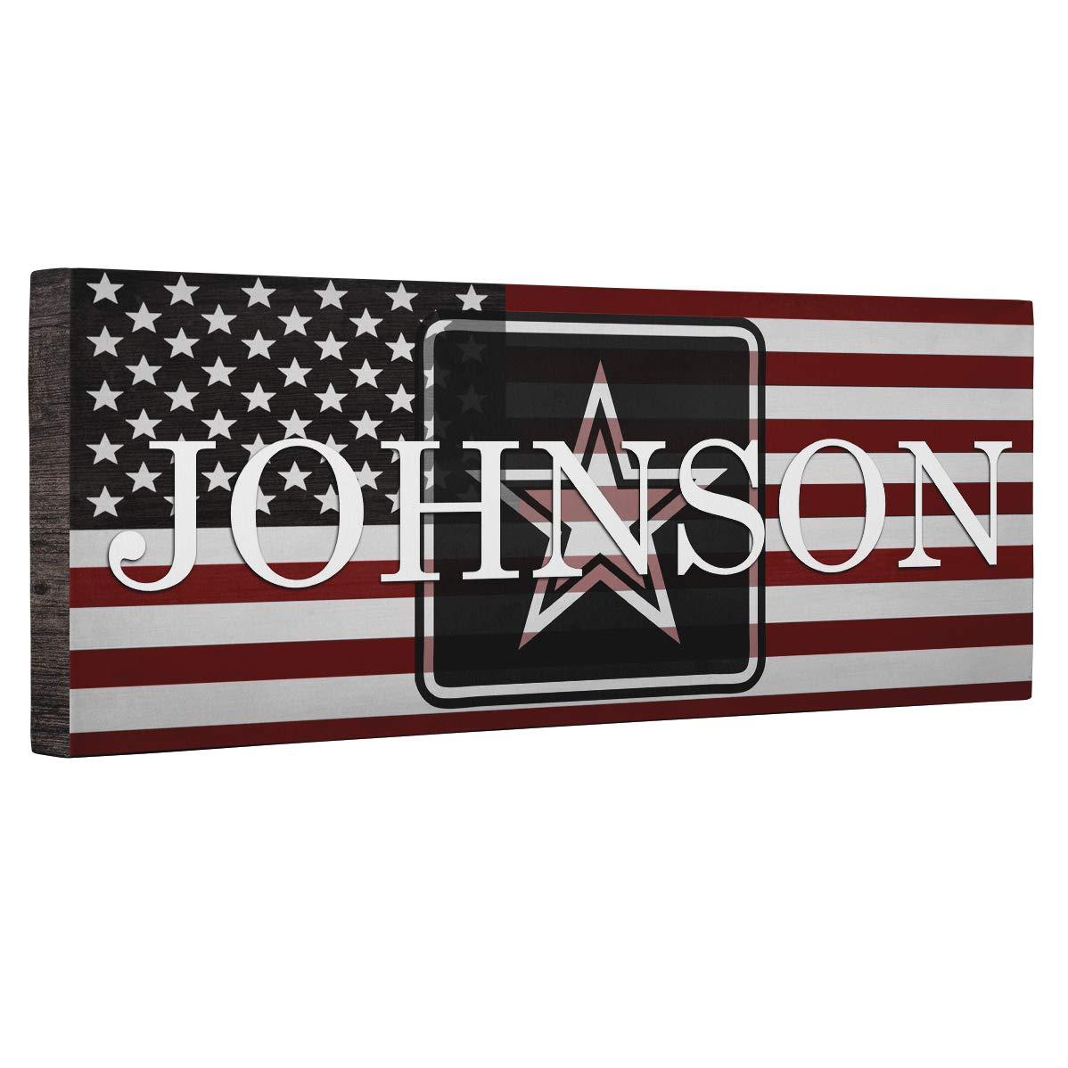 Hero Army Flag CANVAS Wall Art Home D cor