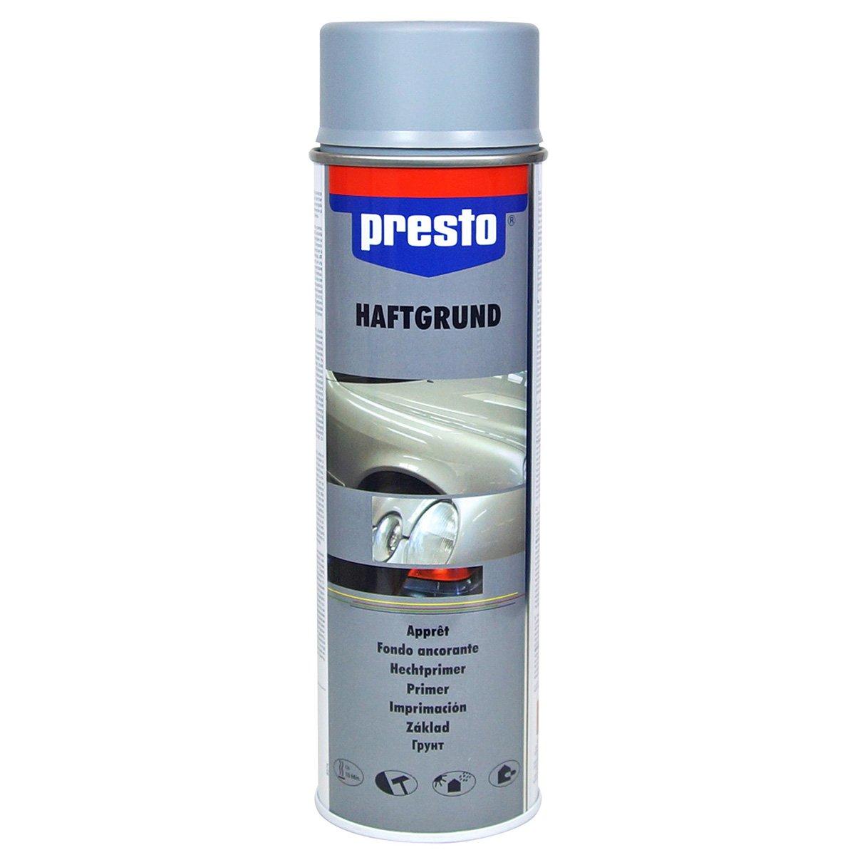 Presto 428917 Rallye-Spray, 500 ml, Haftgrund Grau MOTIP-DUPLI GmbH
