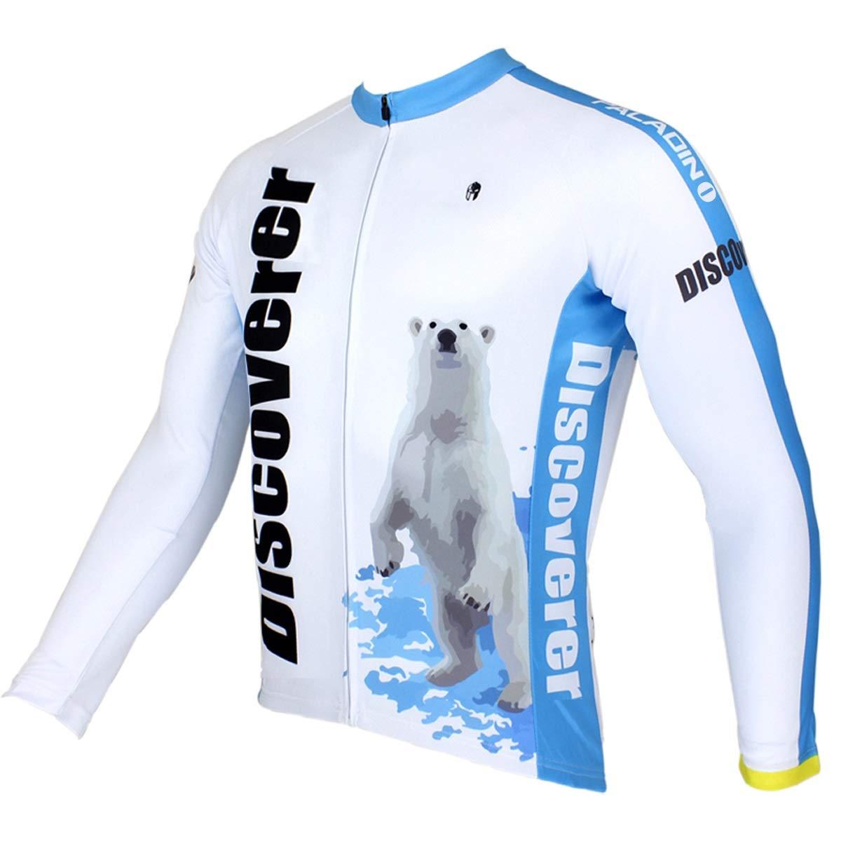Frühling und Sommer langärmelige Jersey-Jacke Wicking Cycling Professional Schnelltrocknender Fahrrad-Reitanzug Fahrradtrikot LPLHJD
