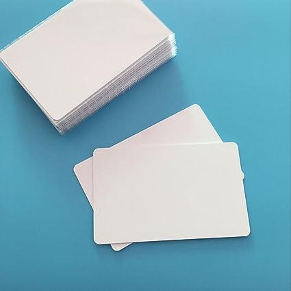 10 X Etiqueta NFC Ntag215 Tarjeta de PVC Blanco NFC para Todo el Teléfono Móvil y los Dispositivos NFC de NORDSD