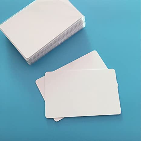 JEERUI 30 PCS Ntag215 NFC Forum Type 2 RFID White PVC NFC Card for All NFC Mobile Phone and Devices