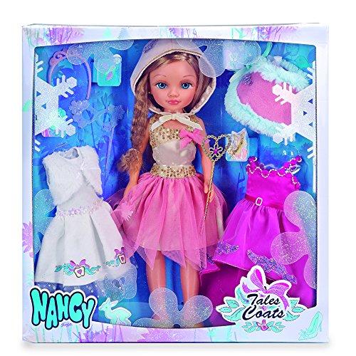 Nancy – Kit de Tres Vestidos de Cuento con muñeca (Famosa 700013110)