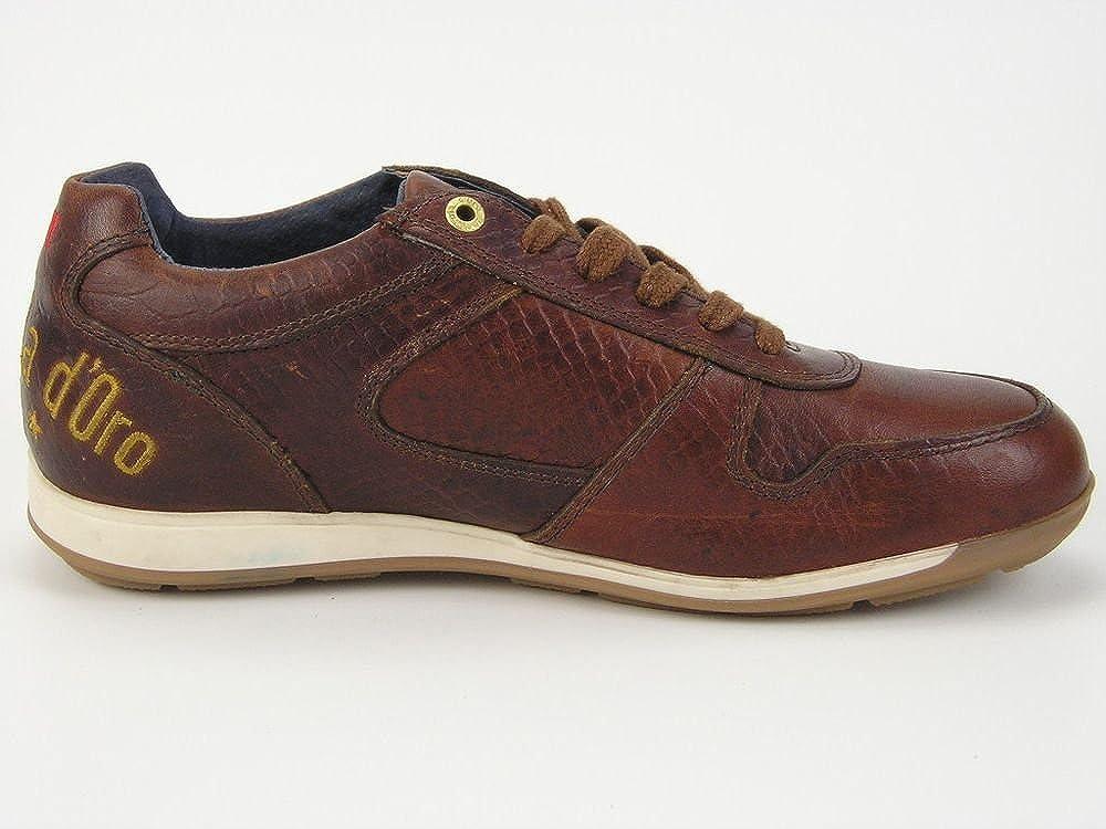 Pantofola d'Oro Avellino Dandy, Sneaker Uomo Marrone Guscio