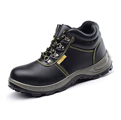 Travail Chaussures Homme Hiver Doublure Acier Bottes Bout Securite NP8wvnOmy0