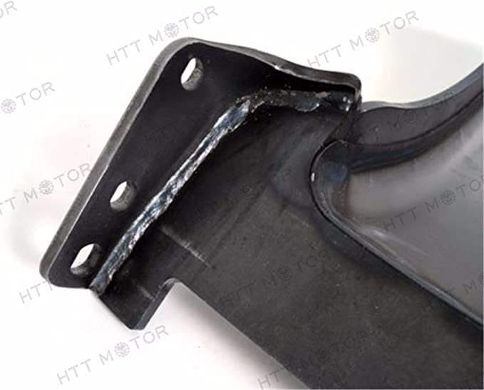 HTTMT N-004 Heavy Duty Steel 7-1//2 Wide Custom Rear Fender Compatible with Harley Softail 130-150-160