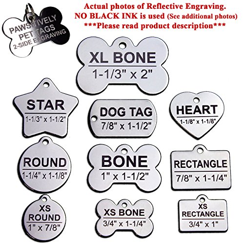 service dog engraved round id tag - 5