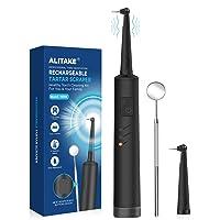 Electric Calculus Remover, Alitake Tartar Scraper Dental Tools Teeth Stain Remover...