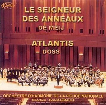 acheter pas cher matériaux de haute qualité styles classiques Le Seigneur Des Anneaux : Compilation, Orchestre d'Harmonie ...