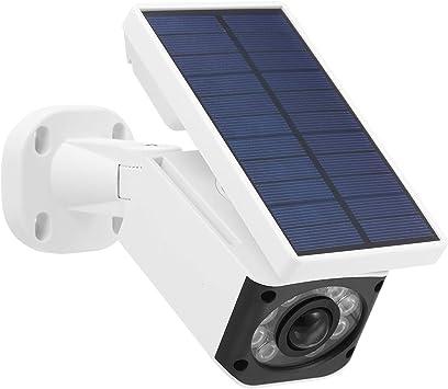 Opinión sobre Youth Luz Solar del LED con Sensor de Movimiento IP66 a Prueba de Agua Regulables Luz Solar de la Seguridad de Home Porche 1080p WiFi IP CáMara De Vigilancia DoméStica (Color : White, Size : 1)
