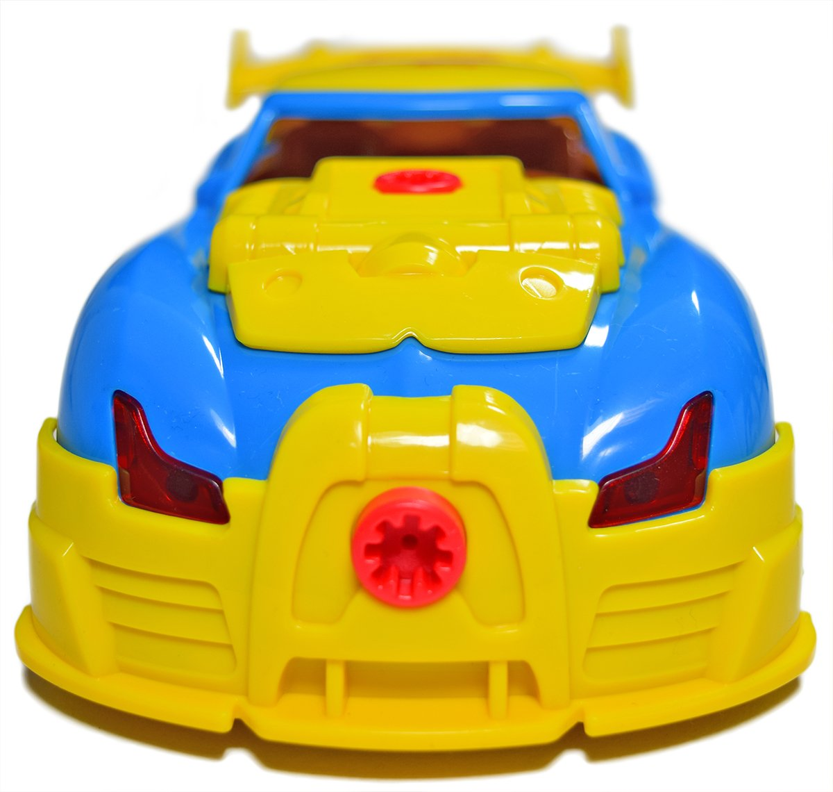 CoolToys Custom Take-A-Part Car Playset – Sports Car with Electric Play Drill and 30 Car Modification Pieces – Motion Activated Lights and Sounds by CoolToys (Image #6)