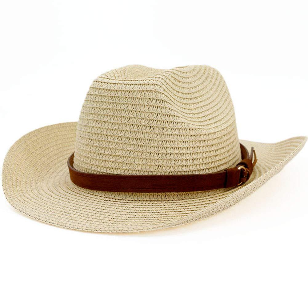 Lisianthus Men /& Women Western Straw Cowboy Hat