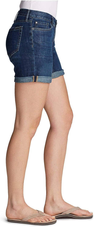 Eddie Bauer Womens Boyfriend Denim Shorts