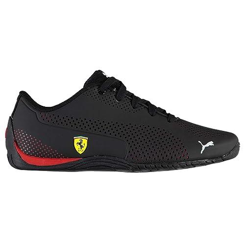 27f41510174 Puma Niños Chicos Cat 5 Cuero Scuderia Ferrari Zapatillas Zapatos Calzado  Casual  Amazon.es  Zapatos y complementos