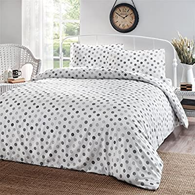 Brielle  Black Circlets, 100% Cotton Sheet Set, 6 Piece Set, Full - LinensNow and Amazon are the only authorized sellers of Brille Home products on this site. Please avoid other sellers for the GENUINE article. Cotton sateen weave with soft finish; single-ply yarns; imported Full sheet set includes flat sheet, fitted sheet, and 2 pillow cases - sheet-sets, bedroom-sheets-comforters, bedroom - 61vBJ%2BG B9L. SS400  -